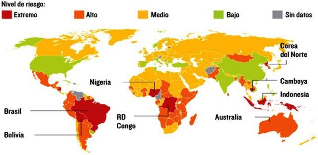 Países con mayor deforestación en el mundo